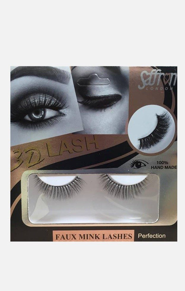 Saffron Faux Mink False Eyelashes - Perfection