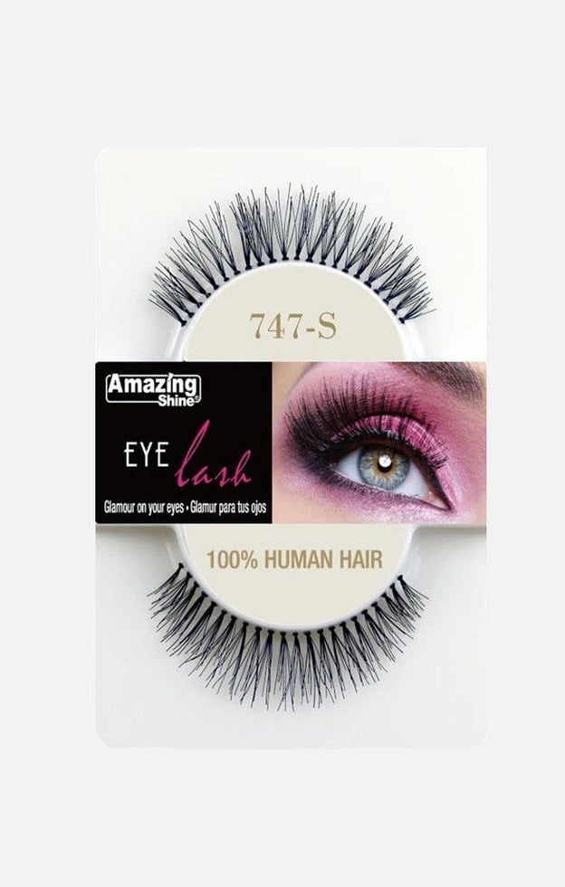 100% Human Hair lashes 747-S