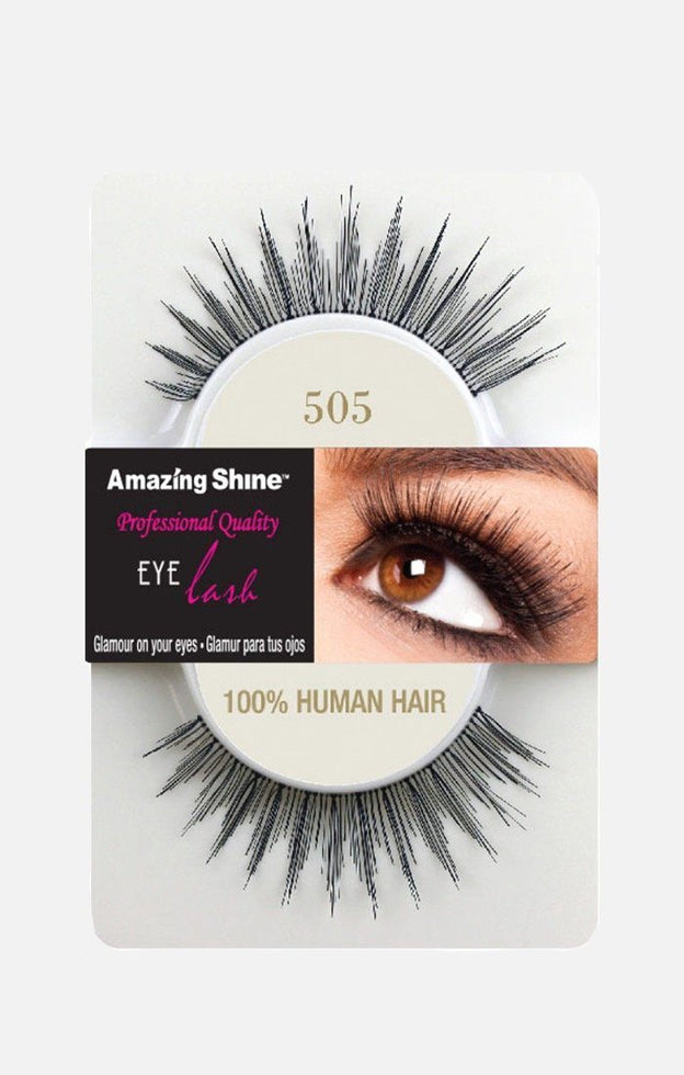 100% Human Hair lashes 505