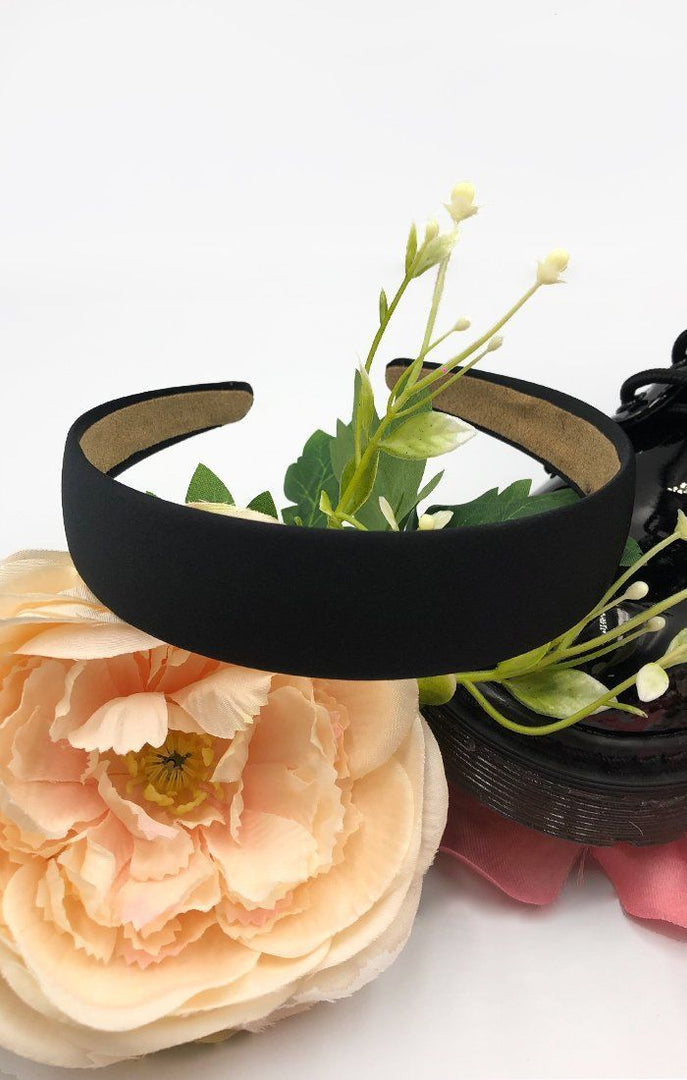 Black Matte Alice Headband - Bess