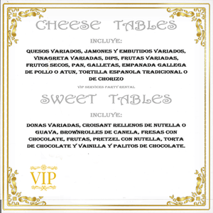 CHEESE TABLES