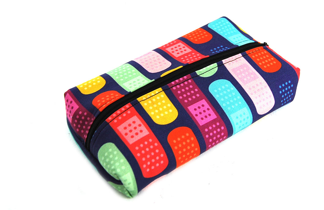 Trousse rectangulaire Pansements multicolores