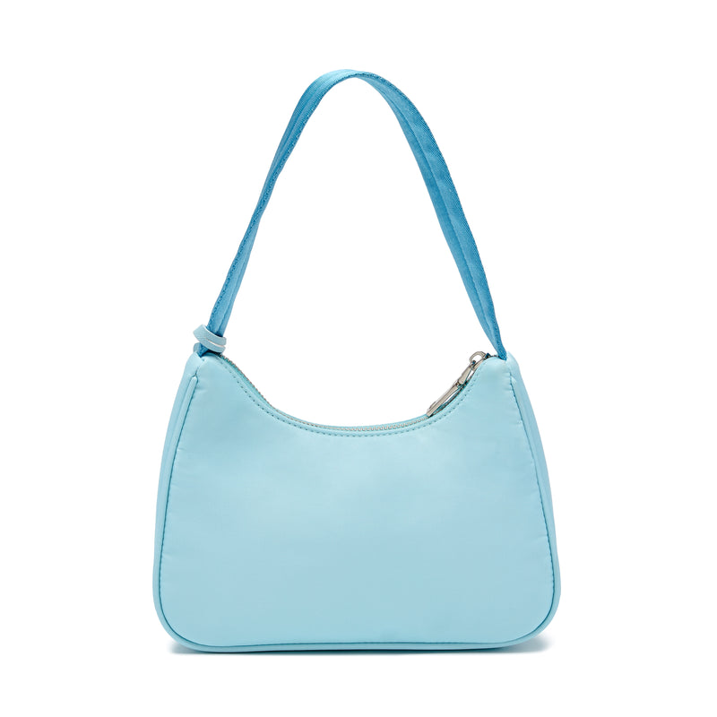 NYLON HANDBAG IN BLUE