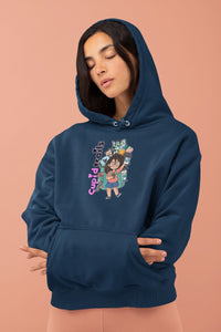 Curly Hair Traveler hoodie