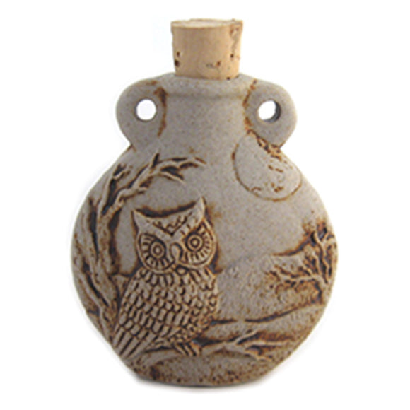 Owl Ceramic Bottle