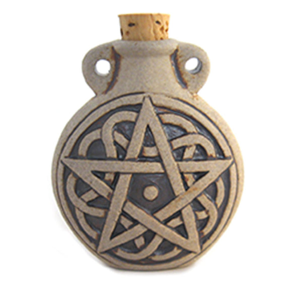 Pentagram Ceramic Bottle