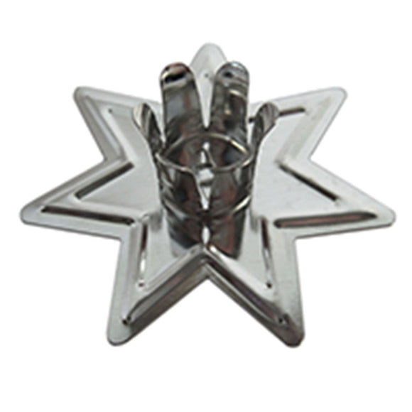 Fairy Star Chime Candle Holder (Silver)