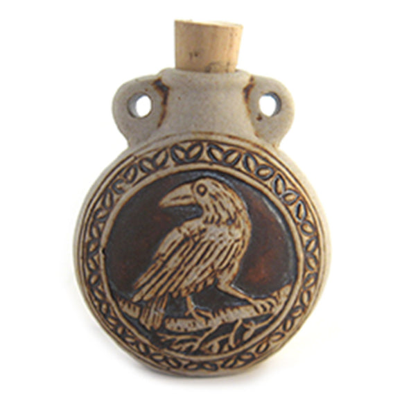 Raven Ceramic Bottle