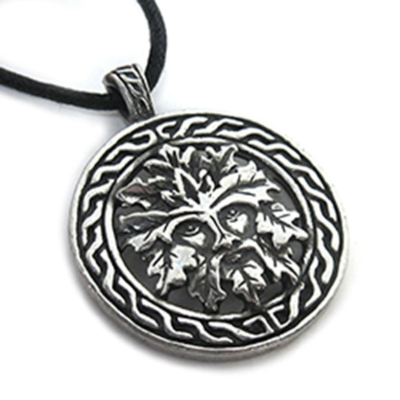 Celtic Green Man Amulet
