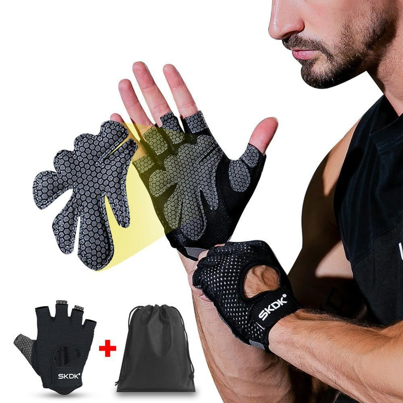 Neutral Elastic Gym Fitness Gloves