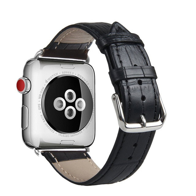 High Quality Leather Loop Sports Band for Apple Watch