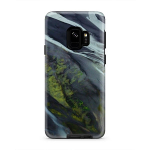 Beautiful Nature Abstract River Bank iPhone X Case
