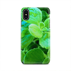 Bright Green Forest Plant Botany Nature iPhone X