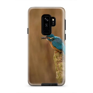 Cute Blue Bird Animal Nature Floral iPhone X Case