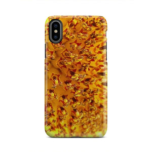 Nature Yellow Sunflower Bloom Zoom iPhone X Case