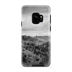 Landscape Tree Nature Rock Mountain iPhone X Case