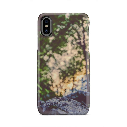 Water Pine Landscape Nature  Plant iPhone X Case