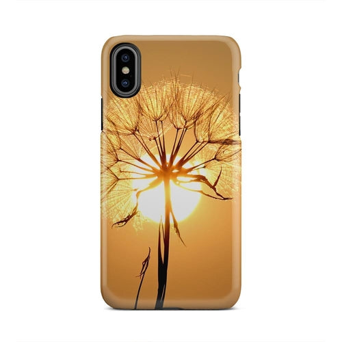 Tree Water Nature Horizon Branch Dew iPhone X Case