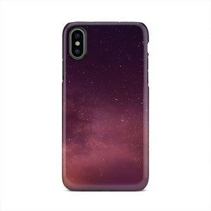 Stars In Nature Over Small Town iPhone X Case