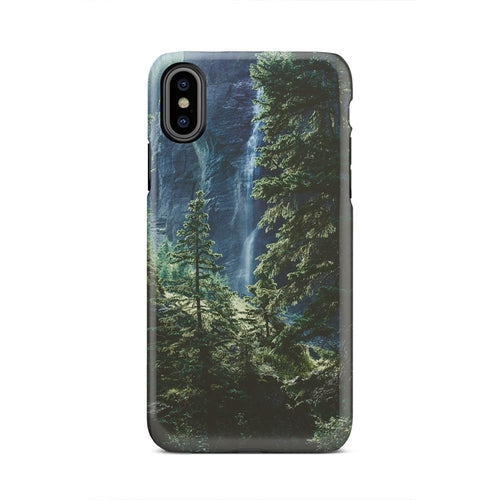 Nature Natural Tree Forest Water Running iPhone X