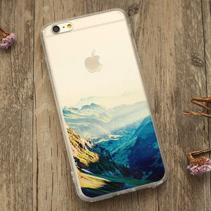 Alps Scenery iPhone Case
