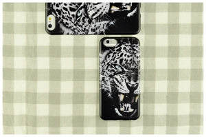 Black Leopard iPhone Case