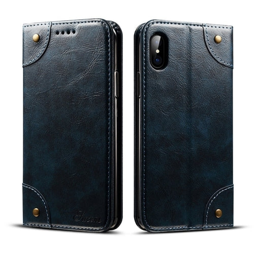 Retro Style iPhone X Wallet Case