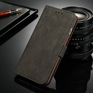 Deboss Dots iPhone Wallet Case