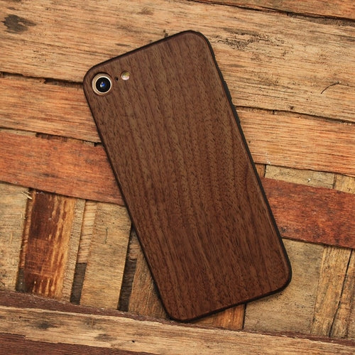 Walnut Wood iPhone Case