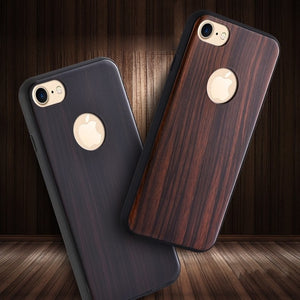 Bright Wood Surface iPhone Case