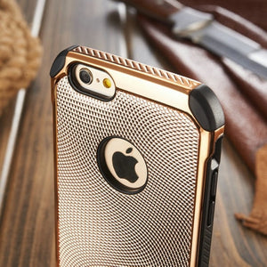 Lizard Grain Protective iPhone Case