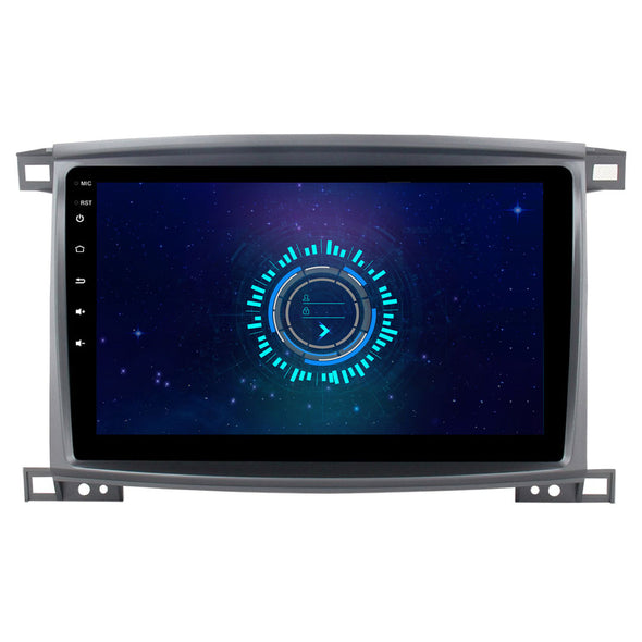 "SYGAV 10.2"" Android car stereo radio for 2002-2008 Toyota Land Cruiser LC100 / wireless CarPlay WiFi Bluetooth"