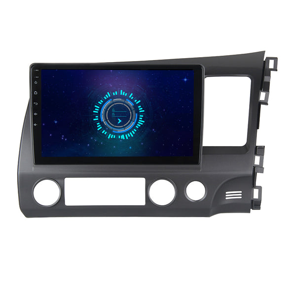 SYGAV Android 10 Car Stereo Radio With CarPlay for 2006-2011 Honda Civic GPS Navigation