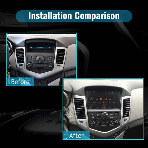 Chevrolet cruze 2008-2013 car stereo installation