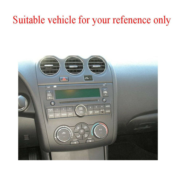 Nissan Altima with Manual AC Radio console