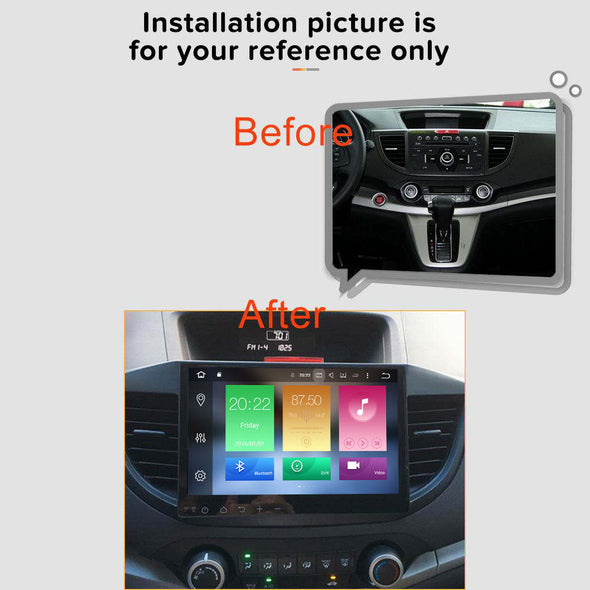 Honda CR-V car stereo installation