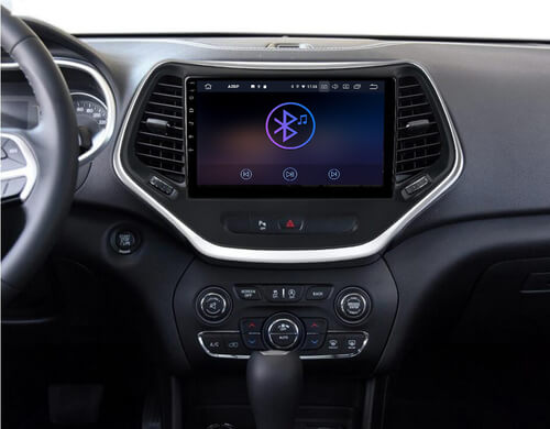 car stereo installation for jeep cherokee