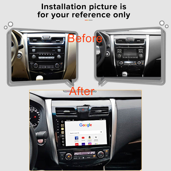 Nissan Altima stereo installation