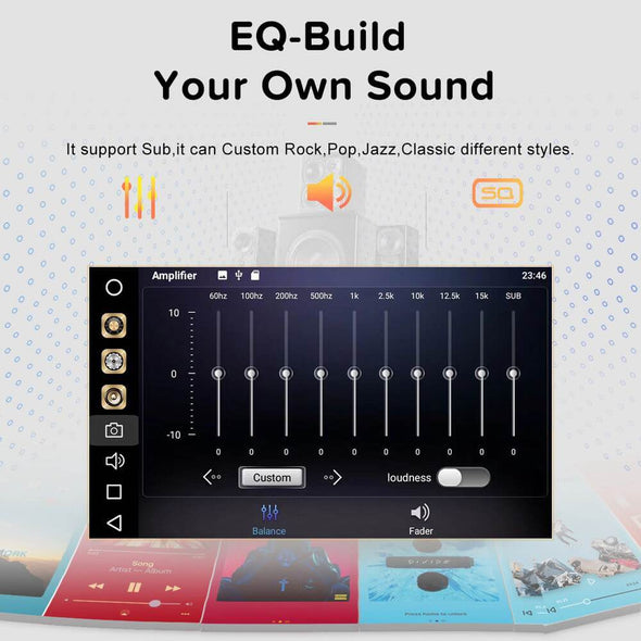 car radio with equalizer