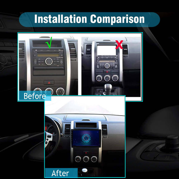 Nissan X-Trail car stereo installation