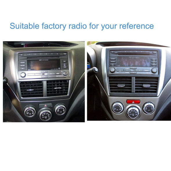installation reference for Subaru Forester