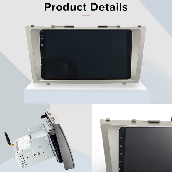 product detail of car stereo for Toyota Camry