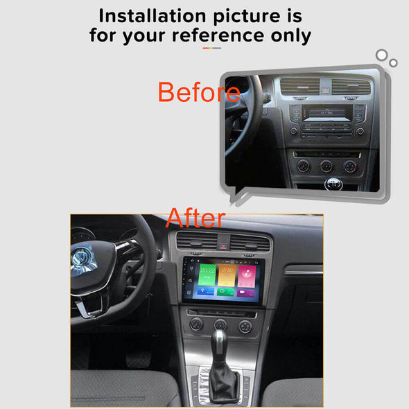 Volkswagen Golf 7 car stereo installation