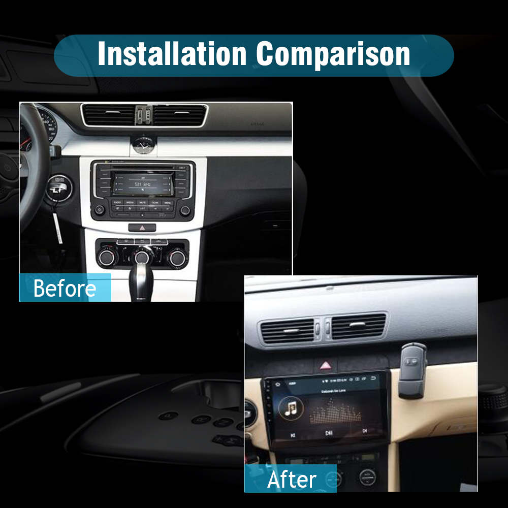 SYGAV Car Stereo for 2010-2015 Volkswagen Passat CC Android 9 0 Radio