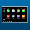Built-in internal Module of Apple CarPlay and Android Auto Function into Car Android Head Unit