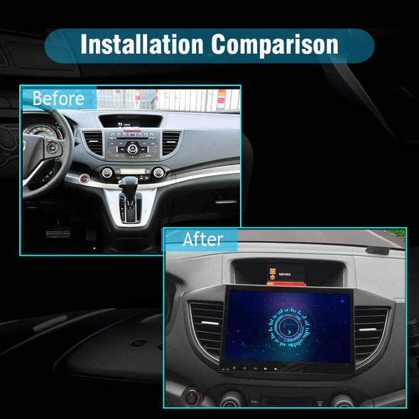 car stereo installation for honda crv