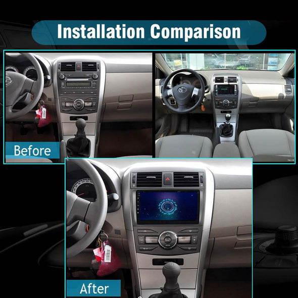 car stereo installation for toyota corolla