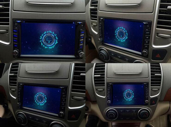 universal double 2 din stereo installation