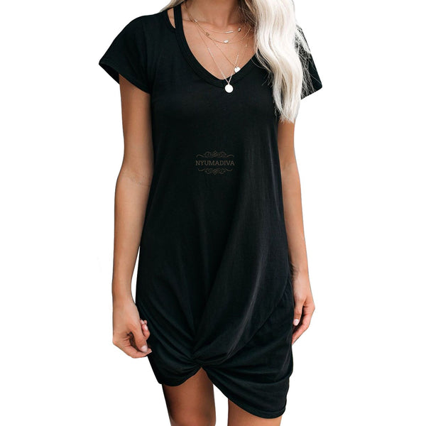 Twist T-Shirt Dress