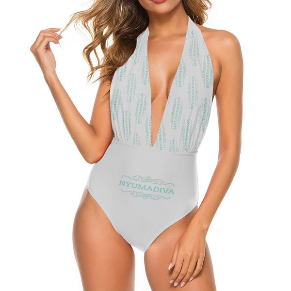 Nyuma Deep V-neck Swimsuit